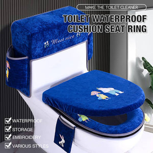 Toilet Waterproof Cushion Seat Ring