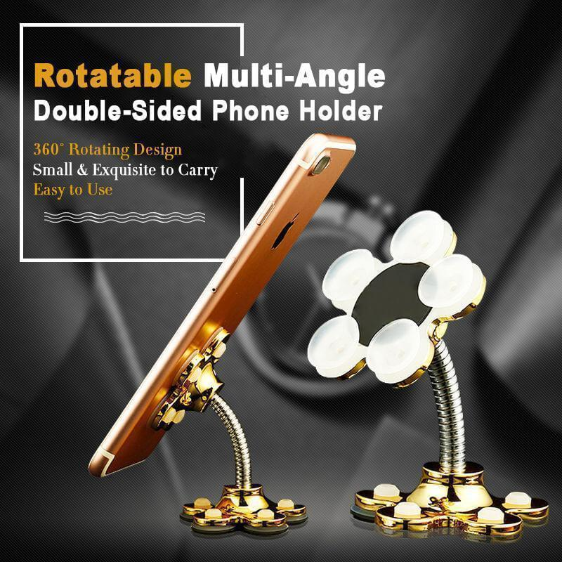 (50%OFF)Rotatable Multi-Angle Double-Sided Phone Holder