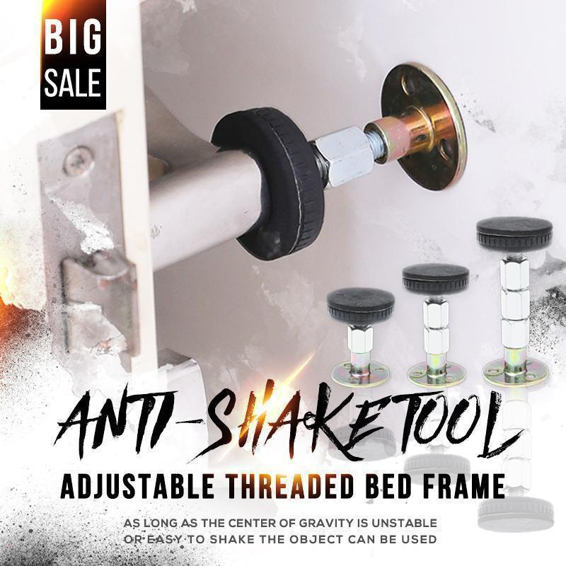 Adjustable Threaded Bed Frame Anti-shake Tool