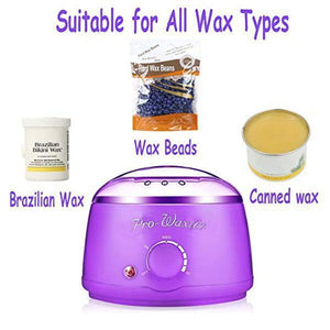 Wax Warmer Hair Removal Kit