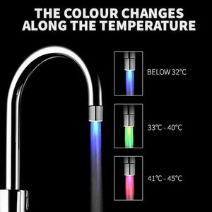 (50%OFF)Temperature Controlled Three Color Faucet