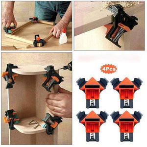 Carpenter's Right Angle Clamp(4PCS)