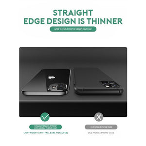 Creative Soft Case Straight Edge iPhone Case