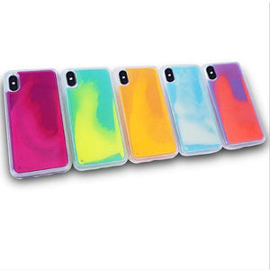 Quicksand Fluorescent Mobile Phone Case for iPhones