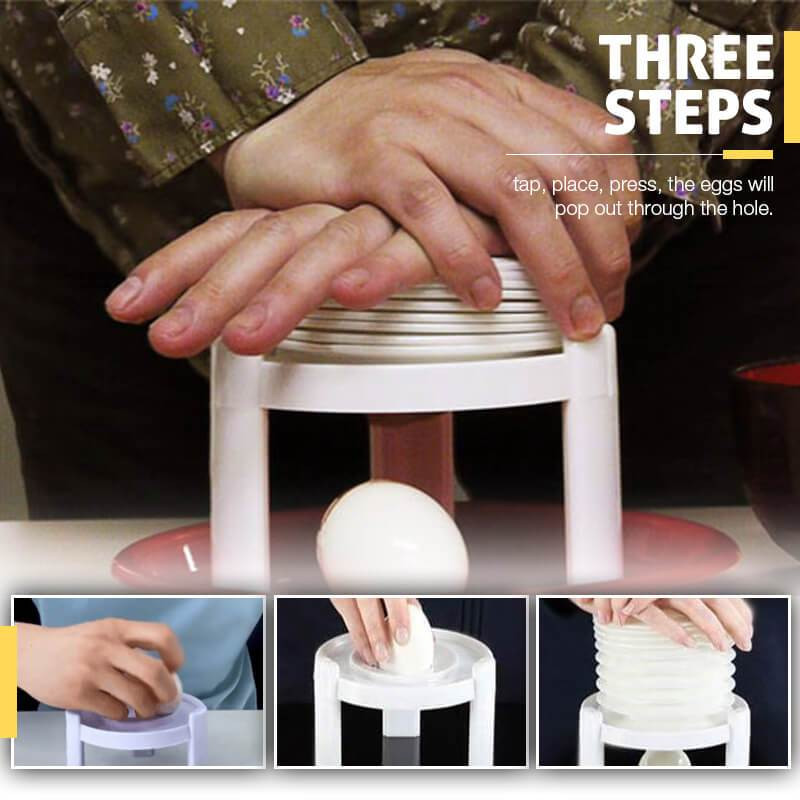Three Steps Egg Shell Remove Tool
