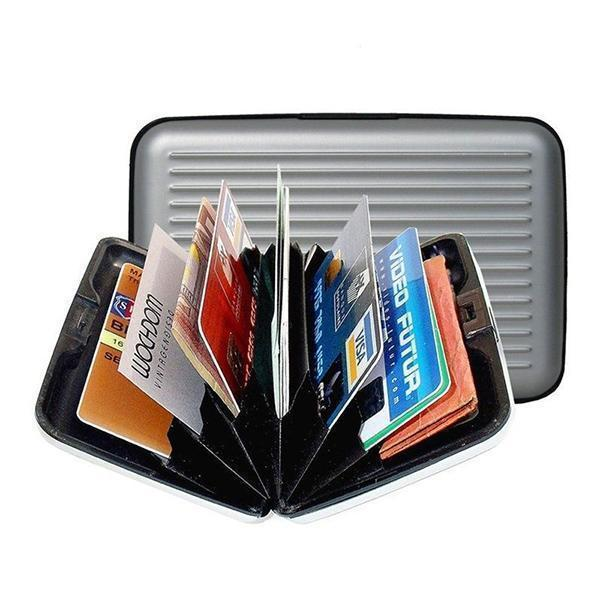 6 Slots Metal Cards Wallet