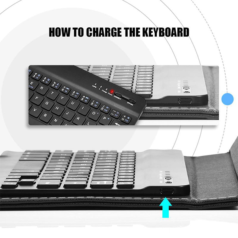 (50%off)Universal Bluetooth Wireless keyboard Holster