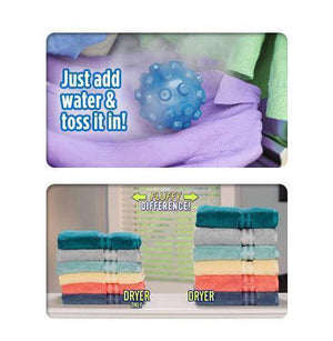 Wrinkle Remover Dryer Ball  (2 Pcs)