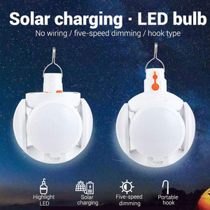 Foldable Solar LED Charging Bulb
