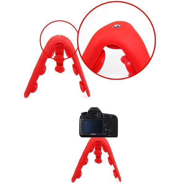 Octopus Silicon Phone Holder