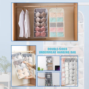 Double-Side Hanging Underwear Organizer