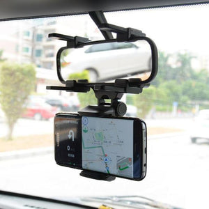 Car Rearview Mirror Phone Holder