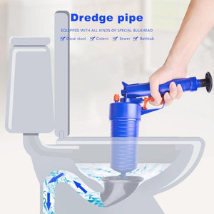 Instant Dredge Toilet Pneumatic Pipe Dredger