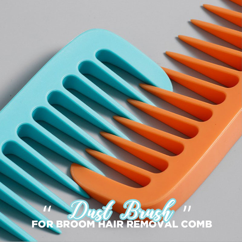 Dust Brush For Broom Hair Removal Comb