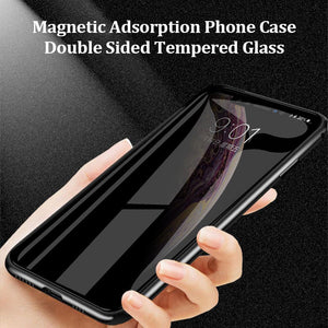 Anti-peep Magnetic iPhone & Samsung Phone Case( Double Side)