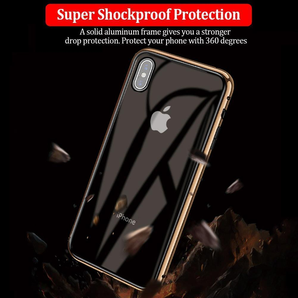 Anti-peep Magnetic Samsung Phone Case( Double Side)