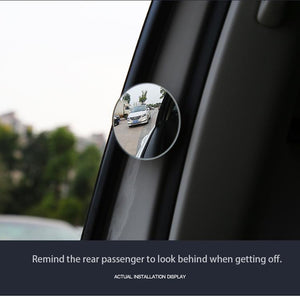 Car Round Rearview Blind Spot Mirror