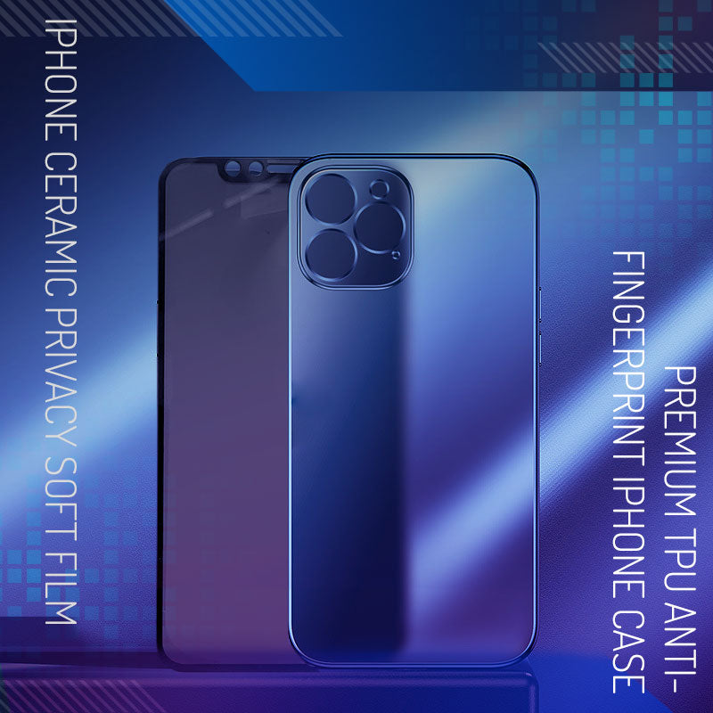 ( Christmas Promotion -50%OFF )Premium TPU Anti-fingerprint iPhone Case