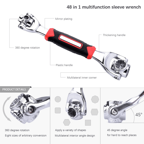 360° Rotating Socket Tool