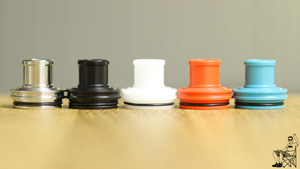 Authentic JMK  Wide Bore Top Cap on sale!! Get this vape deal now!!