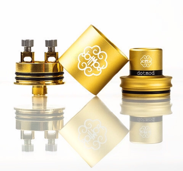 Authentic Petri V2 RDA by DotMod. Cap sold here too!
