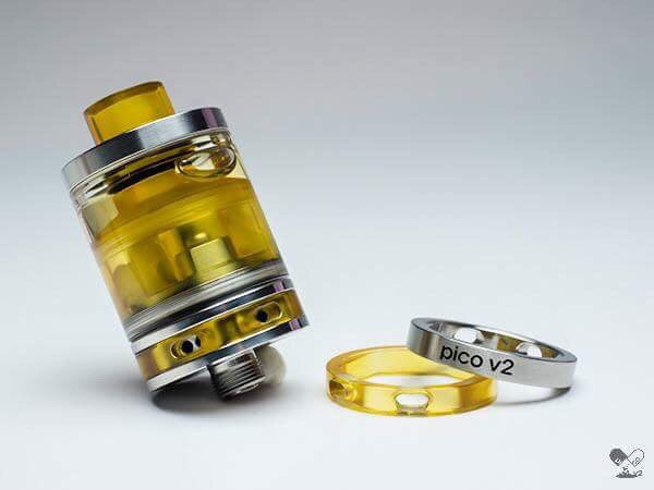 ETA UPDATE SEPT 17. PRE ORDER FOR FIRST WEEK OF SEPTEMBER Pico V2 RTA by YellowKiss. Parts Sold here and is in stock!!