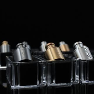 Authentic Titanium Coated Edition Vector RDA By Vapour Lifestyle