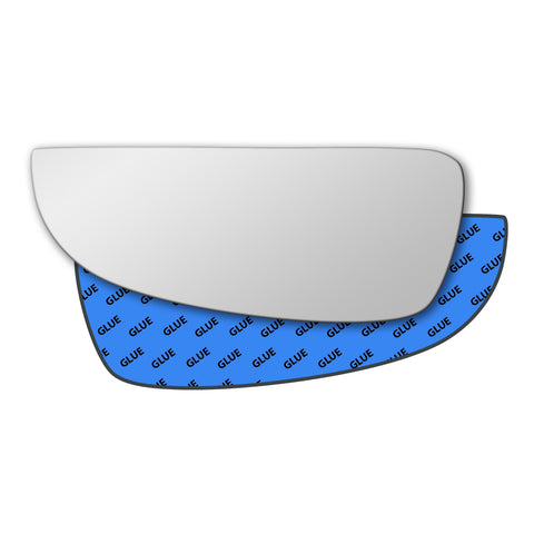 Mirror glass for Citroen Jumper 1999 - 2006