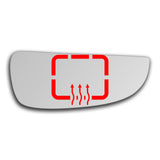 Mirror glass for Peugeot Boxer 1994 - 2006
