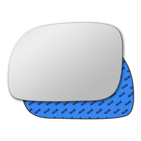 Mirror glass for Chrysler Grand Voyager Mk3 Mk4 1996 - 2007