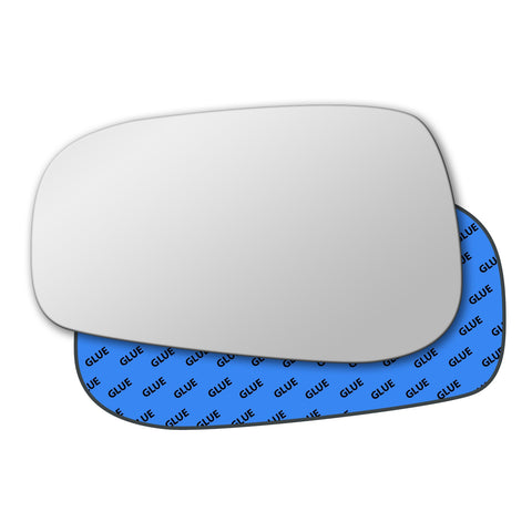Mirror glass for Volvo S80 Mk1 2003 - 2006