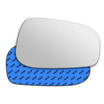 Mirror glass for Volvo V70 Mk2 2003 - 2007