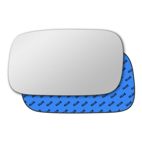 Mirror glass for Volkswagen Caddy Mk2 1995 - 2004