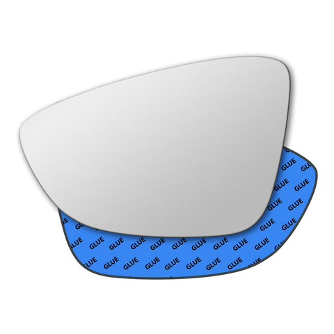 Mirror glass for Volkswagen Passat B7 2010 - 2015