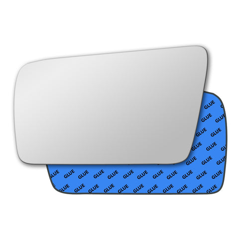 Mirror glass for Mercedes E Class W210 1995 - 1999