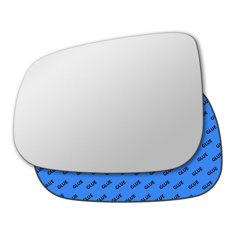Mirror glass for Jaguar X-Type 2008 - 2009