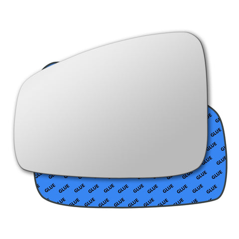 Mirror glass for Renault Laguna Mk3 2007 - 2015