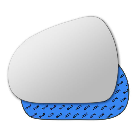 Mirror glass for Peugeot 207 2006 - 2012