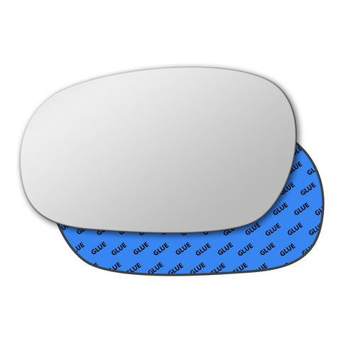 Mirror glass for Daewoo Lanos 1997 - 2002