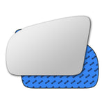 Mirror glass for Hyundai Pony X2 1989 - 1994
