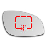 Mirror glass for Vauxhall Signum 2003 - 2008