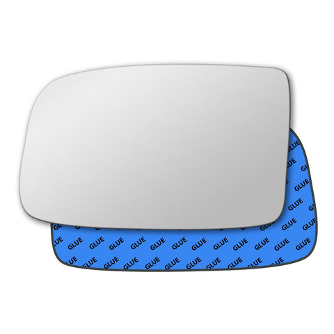Mirror glass for Peugeot 605 1989 - 1999