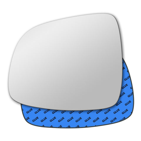 Mirror glass for Fiat Sedici 2005 - 2014