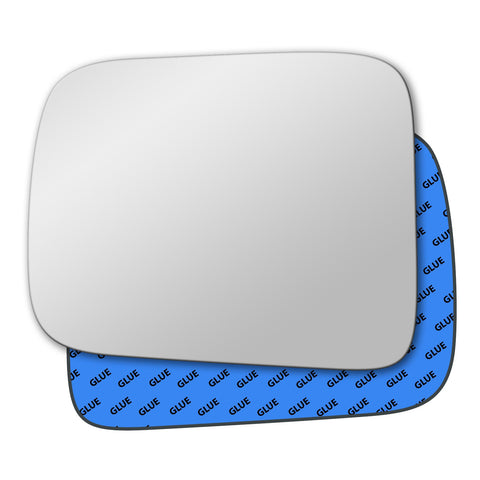 Mirror glass for Nissan Navara 1997 - 2004