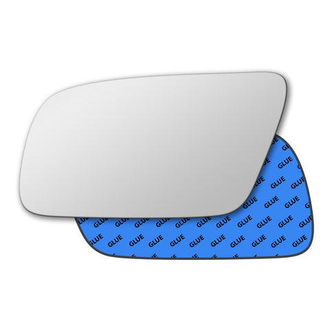 Mirror glass for Audi A4 B5 1999 - 2001