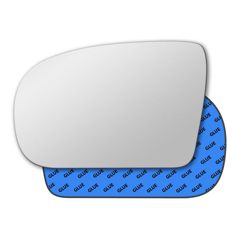Mirror glass for Mercedes E Class W210 1999 - 2002