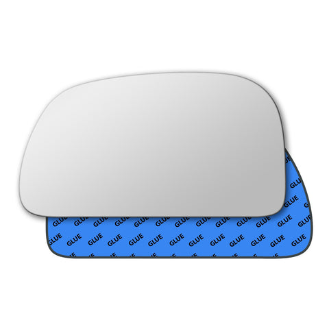 Mirror glass for Mitsubishi Mirage 1995 - 2003