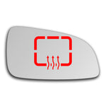 Mirror glass for Vauxhall Astra Mk5 H 2004 - 2009