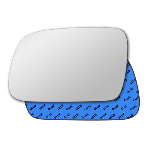 Mirror glass for Peugeot 307 2001 - 2011