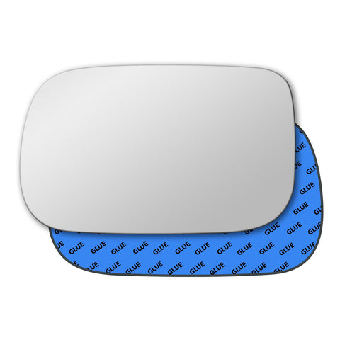 Mirror glass for Honda Civic Mk7 2003 - 2005